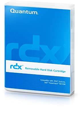 "Quantum MR100-A01A 1 TB 2.5"" RDX Technology Hard Drive Cartridge by Quantum Corporation"