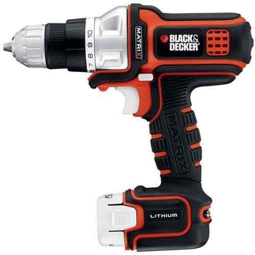 black and decker 12v drill - 8