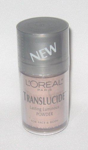 L'Oreal Translucide Lasting Luminous Powder For Face & Bo...