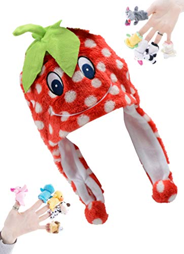 Halloween Costumes Designer Education - PULAMA Winter Animal Beanie Hat with