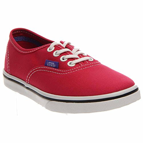 639547a6927 Galleon - New Vans Authentic Lo Pro Rose Red Purple Iris 10.5 Kids Shoes