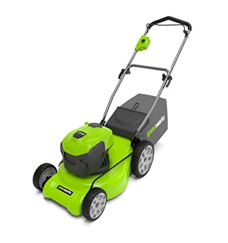 Greenworks 20-Inch 12 Amp Corded Lawn Mower MO12B00 by Greenworks