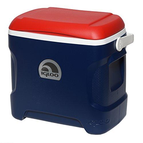 Igloo Blue (Igloo Contour Cooler (Blue/Red/White, 30-Quart))