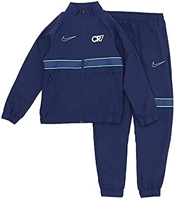Nike Dri-Fit Cr7 Chándales, Niños, Blue Void/Hyper Jade/Metallic ...