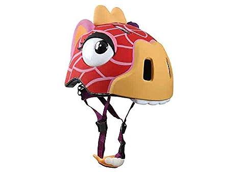 ANC Toys - Casco jirafa con luz y protecciones, 49/55 cm 910124