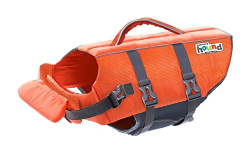 Dog Life Jacket Ripstop Life Jacket for Dogs by Outward Hound, Small, Orange