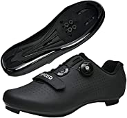 Cycling Shoes Mens Womens Road Bike Riding Shoes Compatible with Cleat Peloton SPD and Delta for Indoor Outdoo