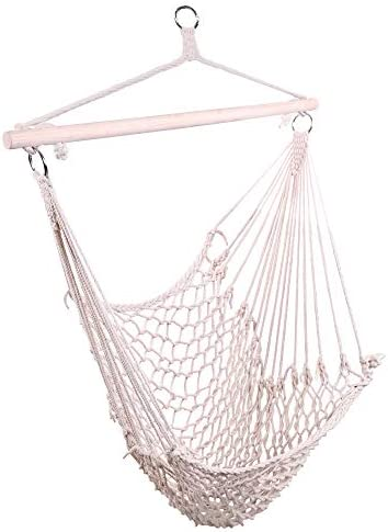 Civigrape Hanging Rope Hammock Chair