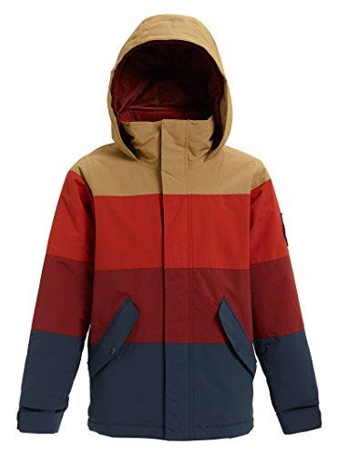 Burton Boys' Symbol Jacket, Kelp/Bitter/Sparrow, Small
