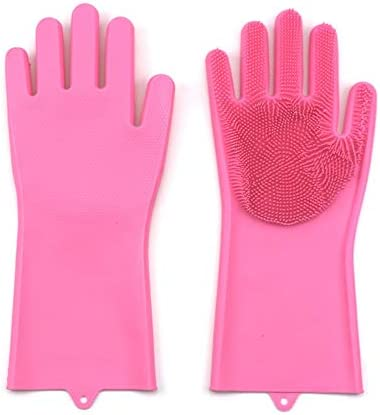 WuMin 多機能清潔な食器洗いアーチファクトは、35.3X15.5cm(青、灰色、緑、ピンクのオプション) (Color : Pink)