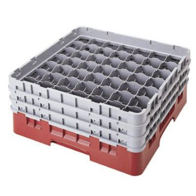 Cambro 36 Compartment Camrack With 4 Extender Of Height 8 1/2 Inch -- 2 Per Case.