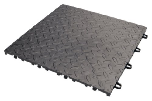 Gladiator GAFT48TTPC Charcoal Floor Tile, ()