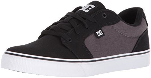 Dc Hombres Anvil Tx Black / Battleship / Blanco