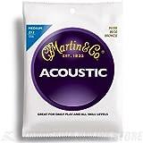 M150  80/20 Bronze Acoustic Guitar Strings, Medium