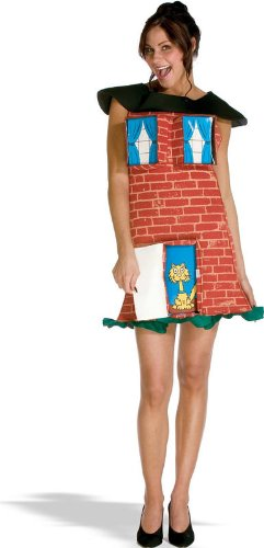 Brick House Costume - Standard - Dress Size 6-12
