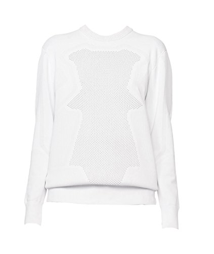 Alexander Wang White Optical Mesh Top - Alexander Gray Optical