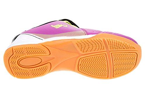 gibra - Zapatillas para deportes de interior de Material Sintético para niño Rosa