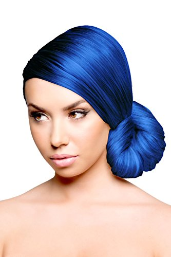 Sparks Long Lasting Bright Hair Color Electric Blue 3 Ounce