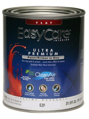 true-value-ezf1-qt-easycare-paint-primer-in-one-white-interior-flat-latex-wall-finish-1-quart