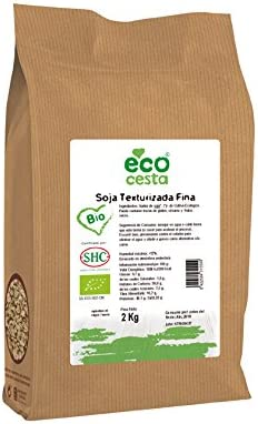 Ecocesta- Soja texturizada fina bio, 2 kg .: Amazon.es ...