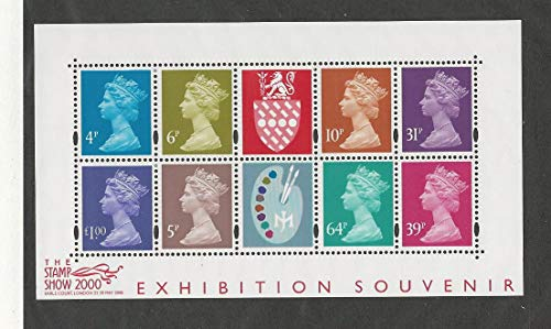 Great Britain, Postage Stamp, MH279a Sheet Mint NH, JFZ