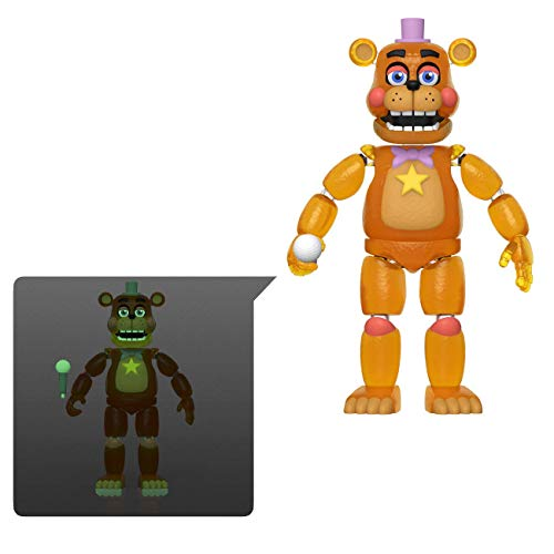 Funko Action Figures: Five Nights at Freddy's Pizza Simulator – Rockstar Freddy