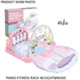 Baby Gym Piano Kick and Play Fitness Rack with Musical Baby Mat, MP3 (Random Color)