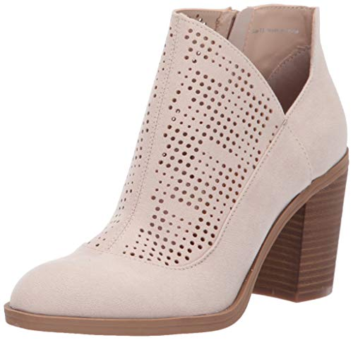 DV by Dolce Vita Women's Jet Ankle Boot Sand Stella Suede 6.5 M US