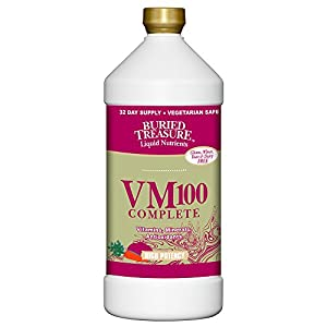 Buried Treasure VM100 Multi Vitamin and Mineral Supplement - 32 oz
