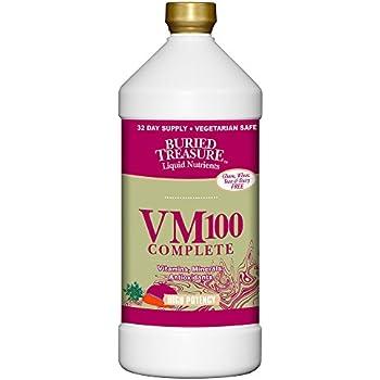 Buried Treasure VM100 Multi Vitamin and Mineral Supplement - 32 oz