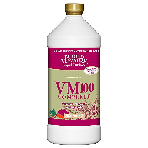 Buried Treasure VM100 Multi Vitamin and Mineral Supplement - 32 oz Complete Buried Treasure
