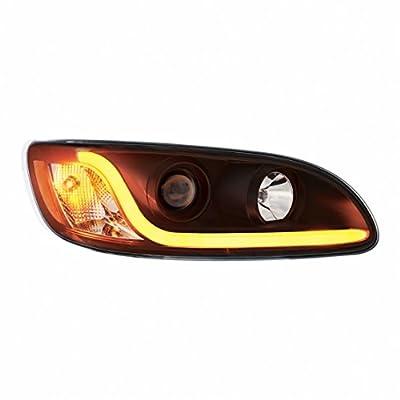 Peterbilt 386 / 387 Blackout Projection Headlight - Passenger Side