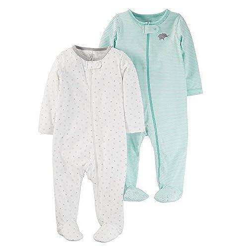 Hose Uni Pijama Beb/é unisex Twins Top Mit Sternchen-druck