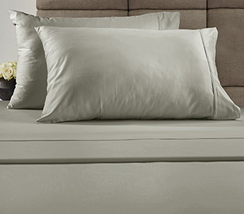 Chateau Home Collection 300 Thread Count Combed Cotton Queen Sheet (Chateau Queen)