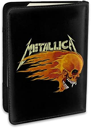 メタリカ Metallica パスポートケース メンズ 男女兼用 パスポートカバー パスポート用カバー パスポートバッグ ポーチ 6.5インチ高級PUレザー 三つのカードケース 家族 国内海外旅行用品 多機能