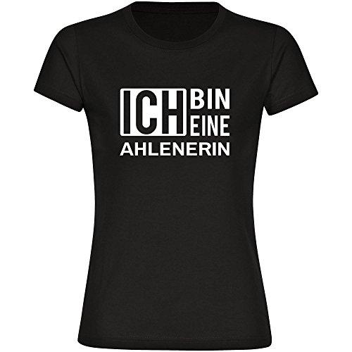 Multifanshop T-Shirt Ich Bin Eine Ahlenerin Schwarz Damen Gr. S bis 2XL 1J2nQJIwcJ