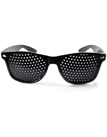 6c93150d6 Gafas de sol Estenopeicas con agujeros antimiopía unisex ejercicio  Anti-fatiga Gafas de Sol Anti