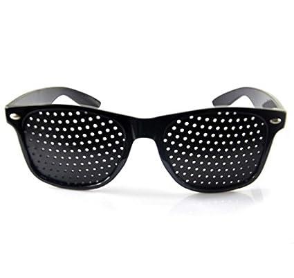 ce6842cb18e Men Women Vision Care Pin Hole Sunglasses Anti-myopia Pinhole Glasses Eye  Exercise Eyesight Improve Natural Healing Anti-fatigue  Amazon.co.uk   Kitchen   ...