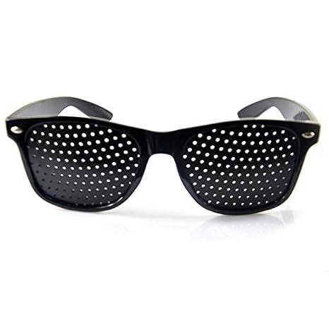 Gafas de sol Estenopeicas con agujeros antimiopía unisex ejercicio Anti-fatiga Gafas de Sol Anti-miopia la Prevención de la Miopía