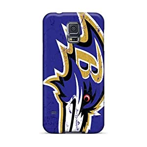 DeanHubley Samsung Galaxy S5 Excellent Hard Cell-phone Cases Customized Lifelike Baltimore Ravens Pattern [pVq2711qlTo]