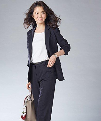 [nissen(ニッセン)] スーツ ストレートパンツ ストレッチ 洗える すごく伸びる 多機能 (上下別売りスーツ) レディース 大きいサイズ