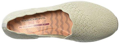 Skechers - Colletto Smerlato Da Donna Con Scollo A Vera, Mocassino Aderente Classico Skech-knit Con Taglio Classico