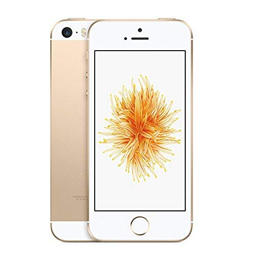 Apple iPhone SE, 64GB, Gold - For AT&T / T-Mobile (Renewed) (5 Att Iphone 32gb)