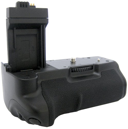 Zeikos Battery Grip - Zeikos ZE-CBGXSI Professional Multi-Power Battery Pack / Grip Replacement for Canon BG-E5, Compatible with Canon EOS Rebel XS, Rebel T1i, Rebel XSi, 1000D, 500D, 450D, Kiss X3, Kiss X2 & Kiss F