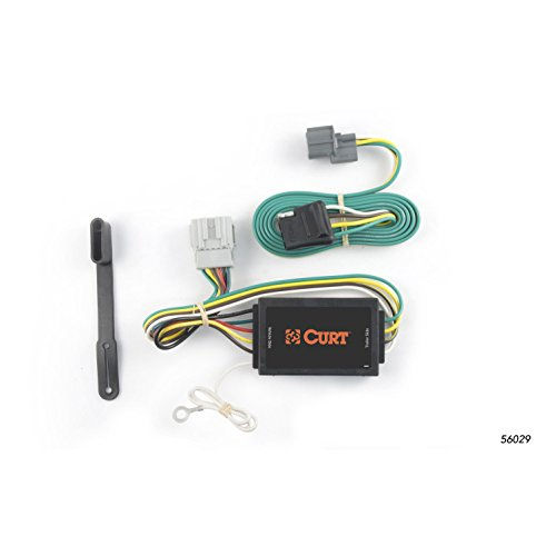Honda Element Trailer - CURT 56029 Vehicle-Side Custom 4-Pin Trailer Wiring Harness for Select Honda Element