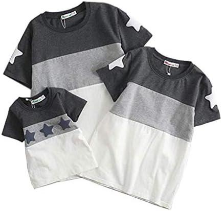 (JUTAOPIN)-자식 쌍 봐 t-셔츠 사랑 전부 친자 옷-자식 쌍 t 셔츠 반 소매 큰 사이즈 S M L XL 2XL 3XL 아이 키 65-150CM까지 해당 성인 37KG-105KG까지 대응 / (JUTAOPIN) Parent-Child Pair Look T-Shirt Cute Matching Parent-Child Clothing Par...