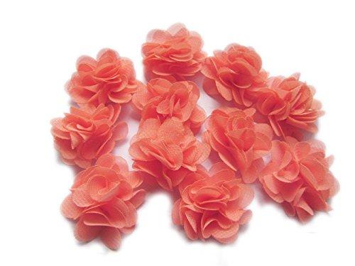 YCRAFT Pack of 30 Cute Mini Chiffon Flower 1