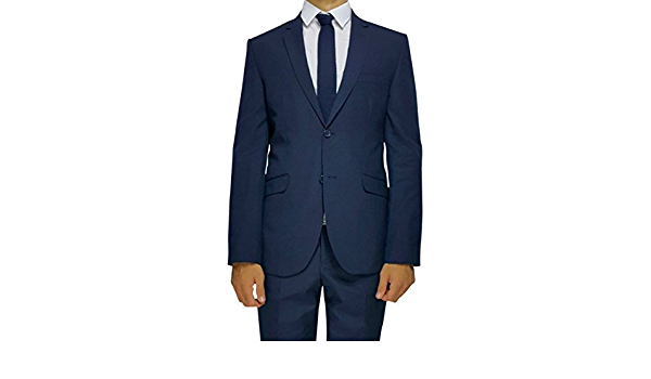 Robin Londres – azul marino Semi Slim Fit Para Hombre ...