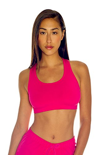 Women's Certified Organic Cotton Spandex Sports Bra and Shorts - Non GMO, Made In The - In Sports Usa Made Bra