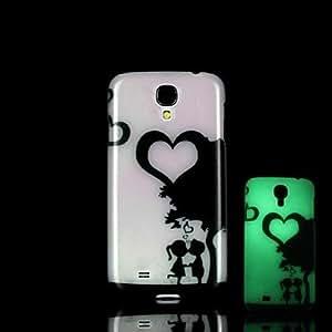 zxc Portrait Pattern Glow in the Dark Hard Case for Samsung Galaxy S4 Mini I9190